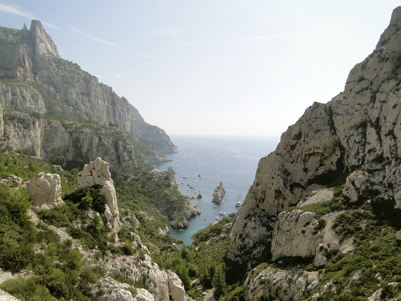 Les Calanques, Southern France