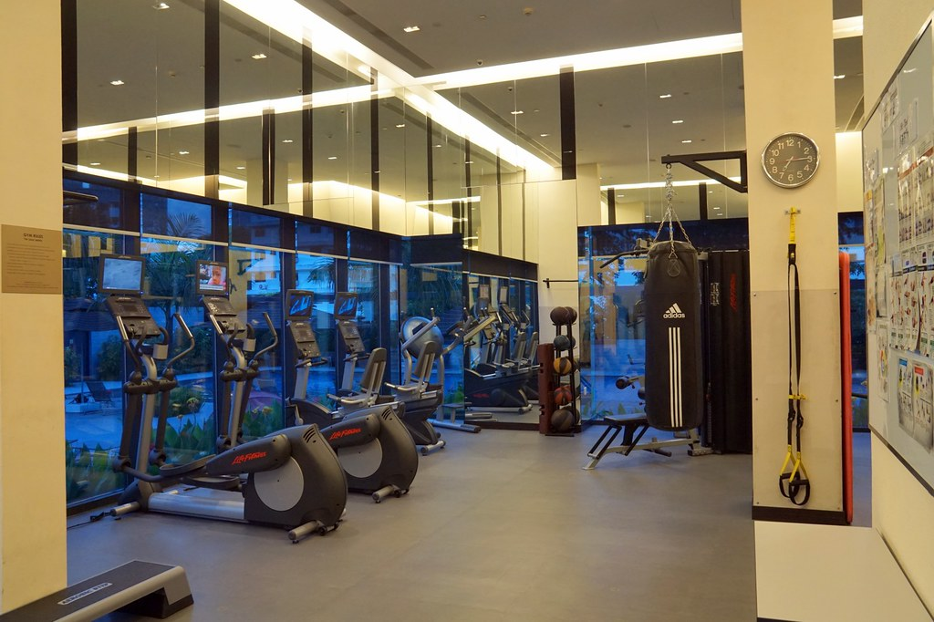 ramada hotel singapore -  24 hours gym