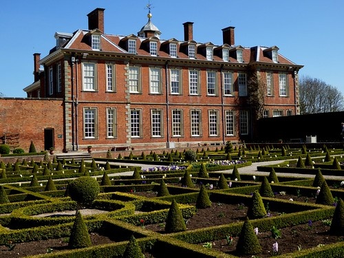 Hanbury hall parterre worcestershire jacquemart flickr for Parterre 3d