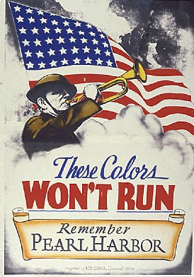 World War II Poster - The Colors Won't Run