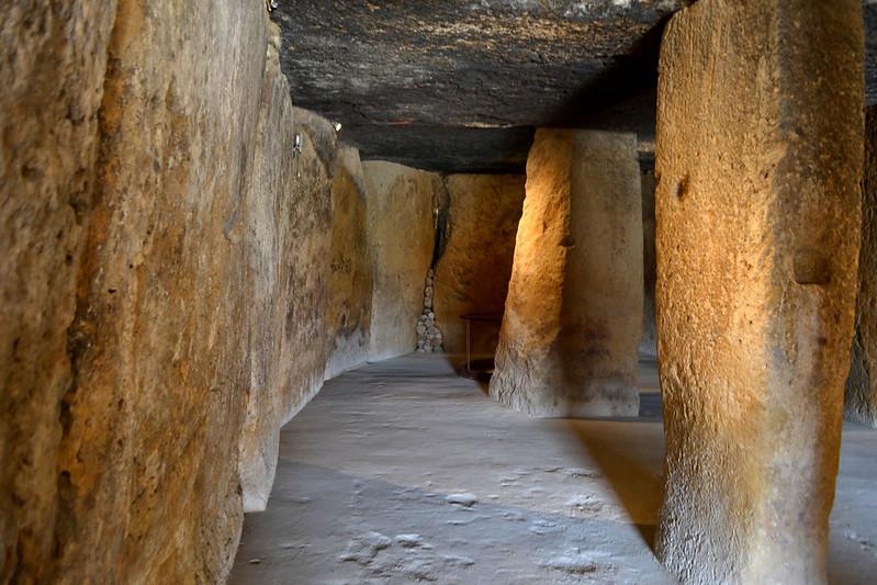 Cámara sepulcral del dolmen de Menga
