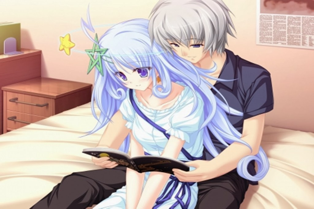 Image Result For Anime Boy And Girl Love Wallpaper