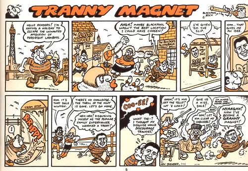 Tranny magnet comic