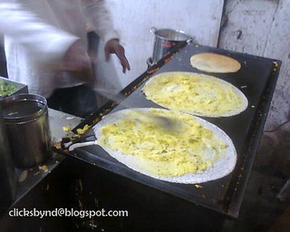 MAKING OF A DOSA