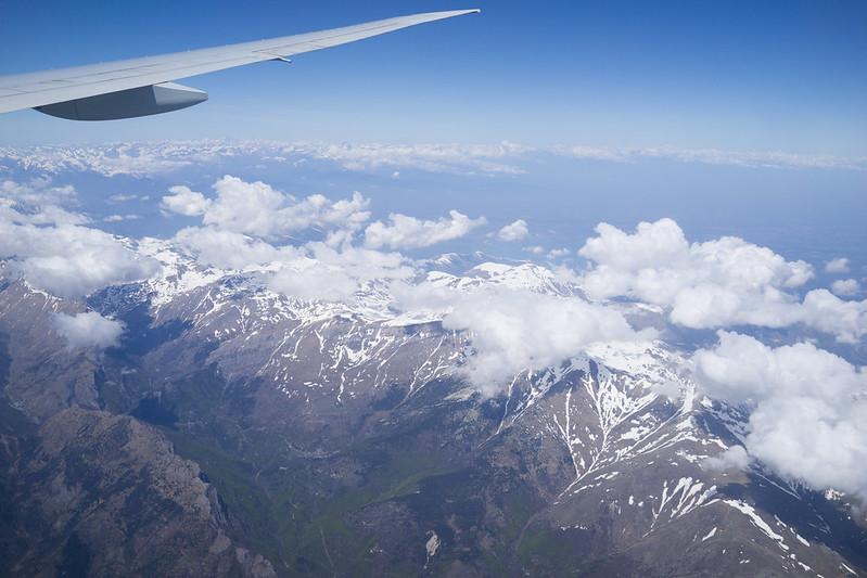 法義交界的阿爾卑斯山