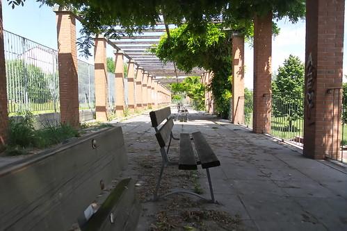 Pausa nella stazione della natura