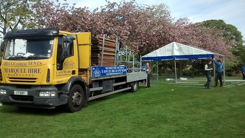 Whickham May fayre preparation May 15 2