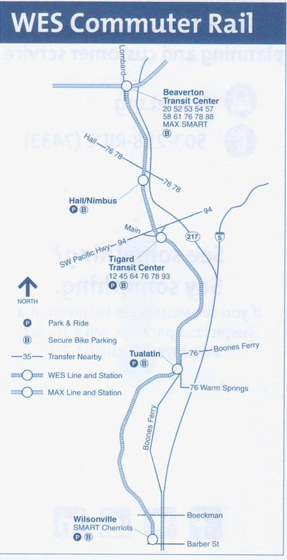 TriMet WES 2015 Map