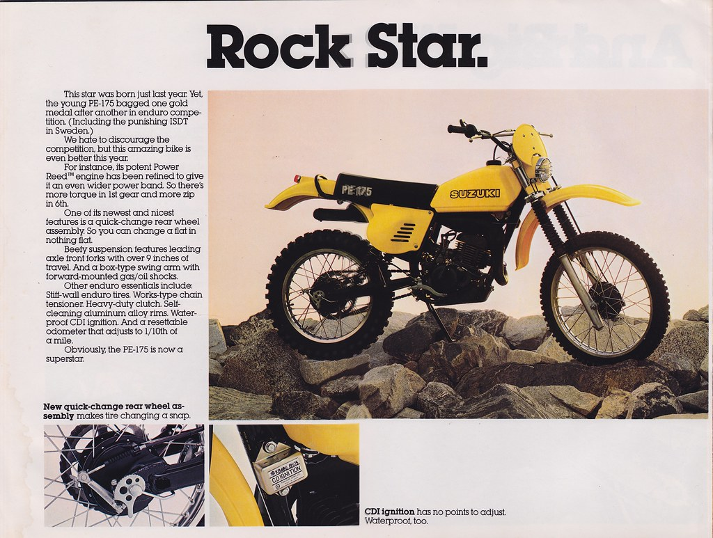 Suzuki Pe Parts