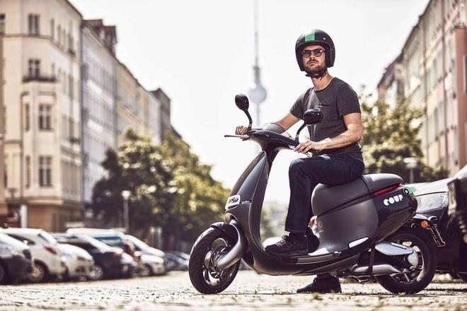 Gogoro 與 BOSCH 新創公司 COUP 合作在德國柏林提供二輪共享租賃服務