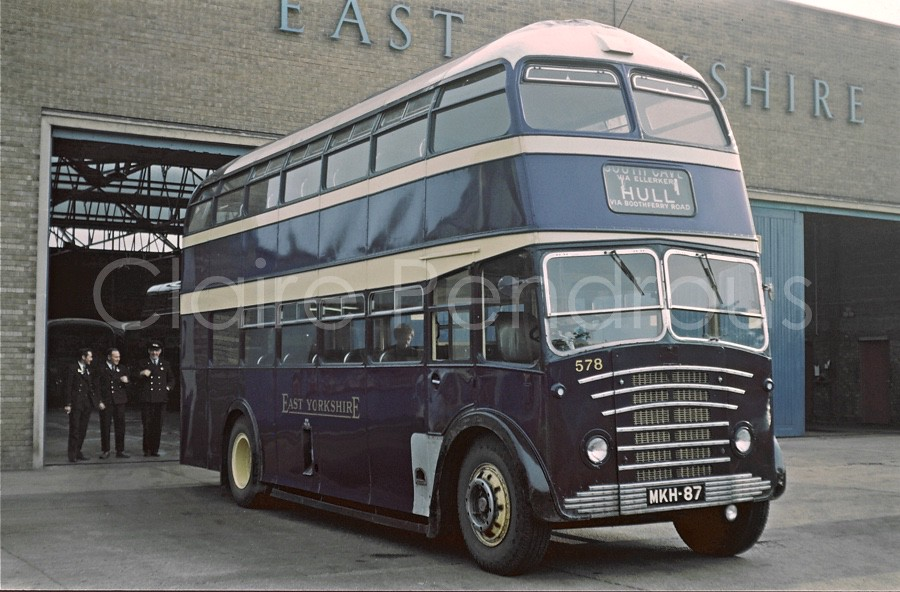 East Yorks 578 Mkh87 At Hull East Yorkshire Motor