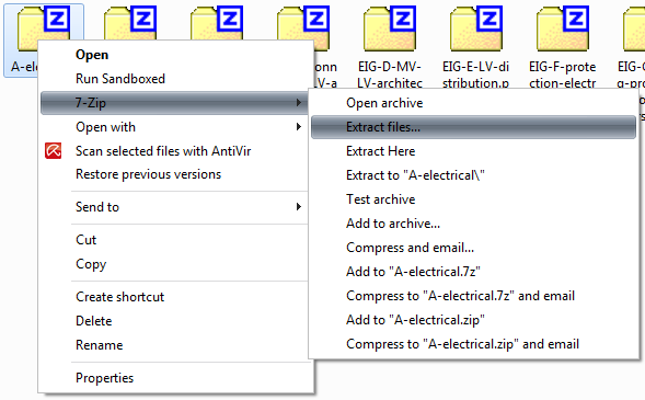 Tips 7-zip Portable: Associate with Files and Integrate to Context