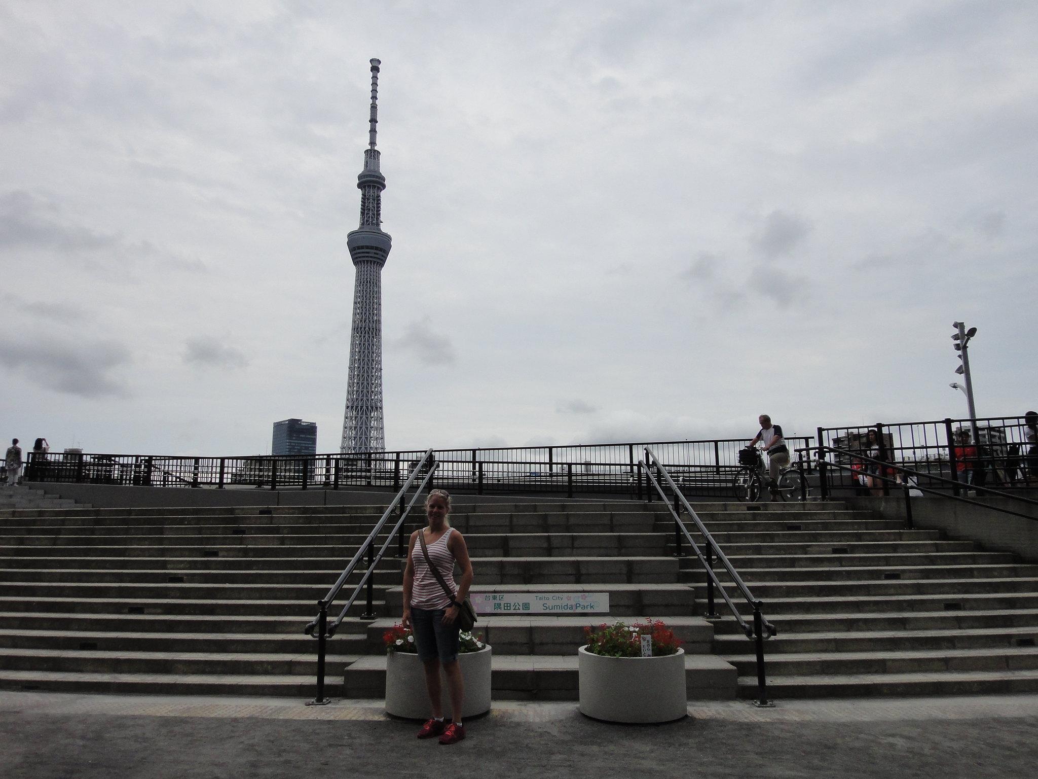 Påväg till Tokyo Skytree