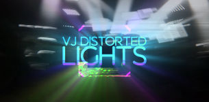 VJ Distorted Lights (Set 2)