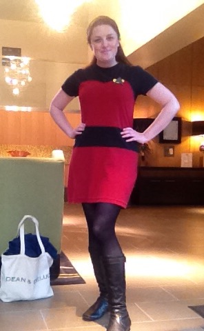 Me in my Star Trek Costume