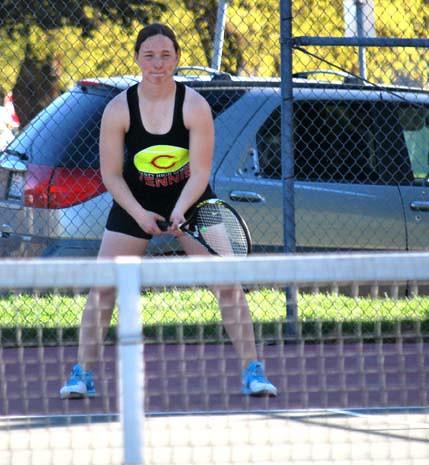 Girls tennis 11