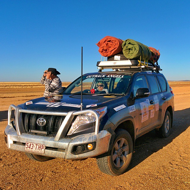Futher west. Drove 379 km this morning. Still in Outback Queensland.