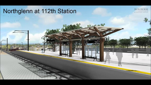 Northglen-112th Station Rendering