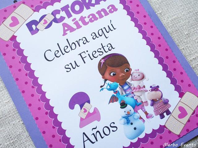 Carel bienvenida fiesta Doctora Juguetes