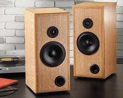Rockler Woodworking and Hardware has launched a DIY Bookshelf Speaker Kits