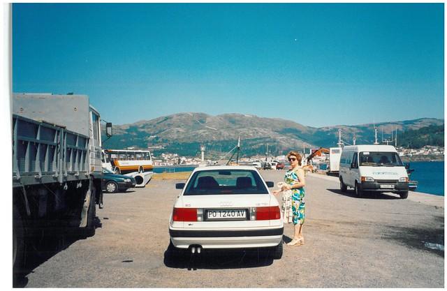 YOLANDA PAGLIERO, AUDI 80 1.9 TDI, 1994