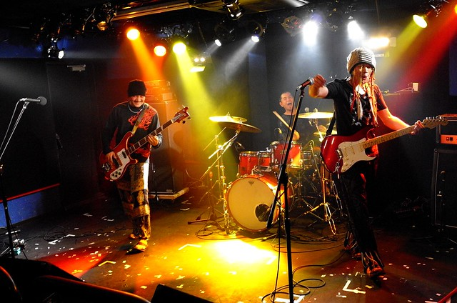 SPUTNIK KOMBINAT live at 獅子王, Tokyo, 10 May 2015. 428