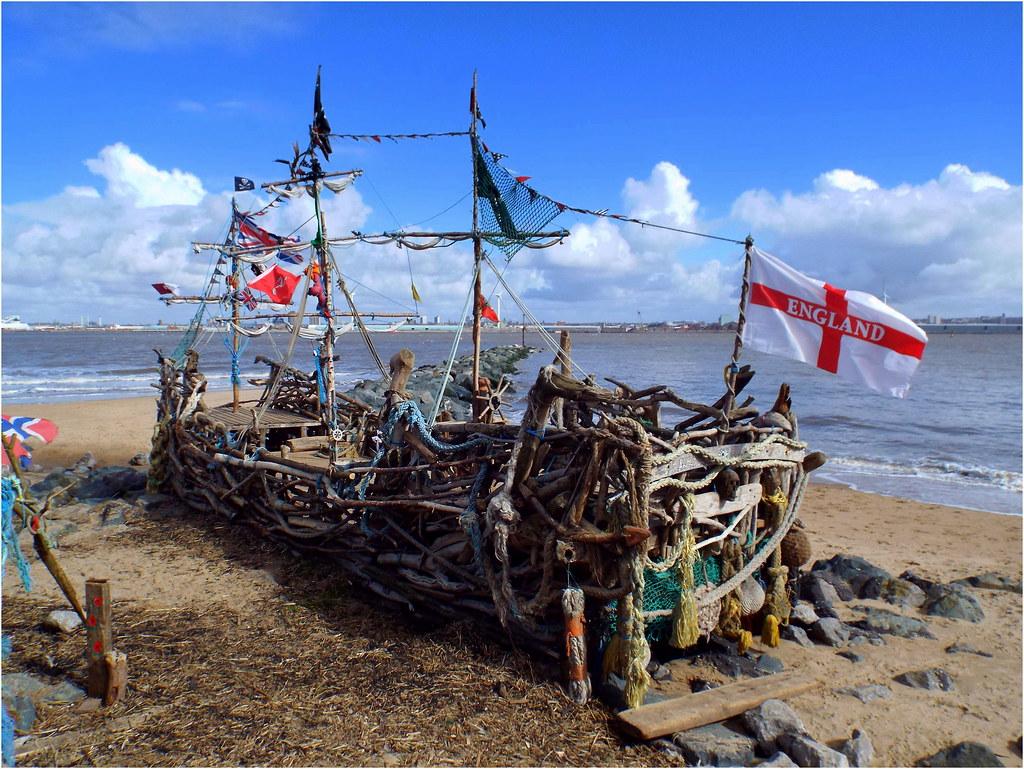 New Brighton Beach Pirate Ship