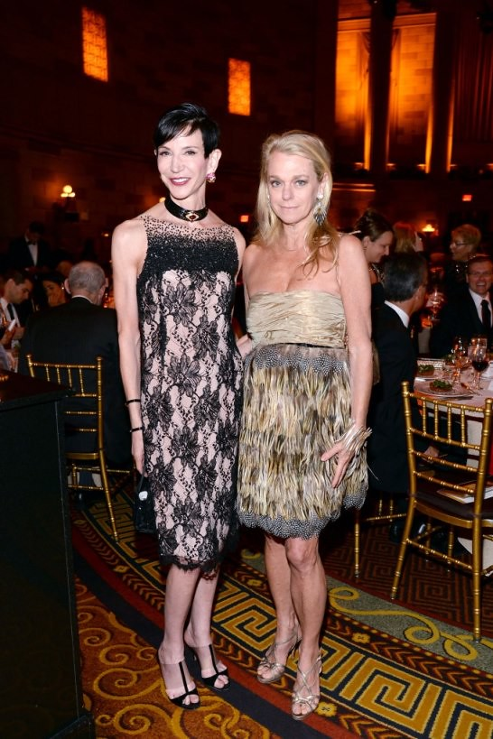 Amy Fine Collins, Debbie Bancroft==.In International Centre for Missing & Exploited Children's Inaugural Gala for Child Protection==.Gotham Hall, NYC==.May 7, 2015==.©Patrick McMullan==.Photo - Clint Spaulding/PatrickMcMullan.com==.==