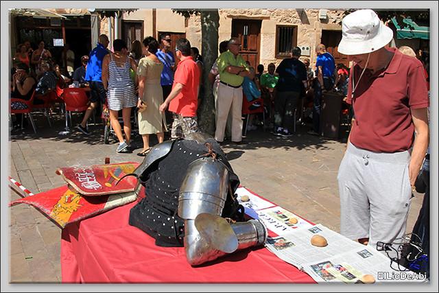 Poza de la Sal, Feria de Artesanía y Alimentación y Combates medievales (5)
