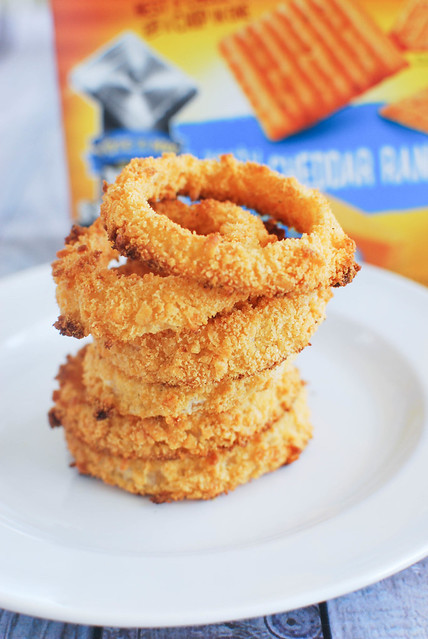 Bacon Cheddar Ranch Onion Rings