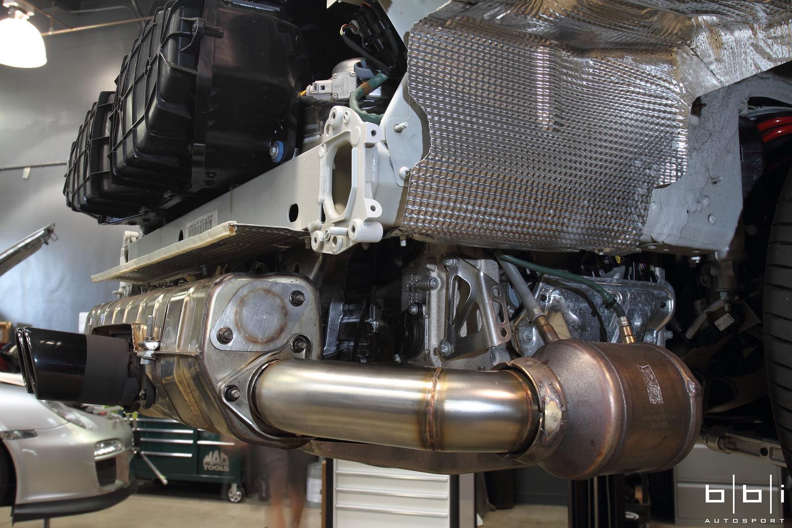 Bbi Autosport Porsche 997 Gt3 Gt3rs Streetcup Exhaust