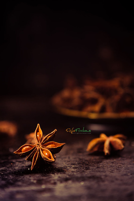 Because I am the star, star anise!