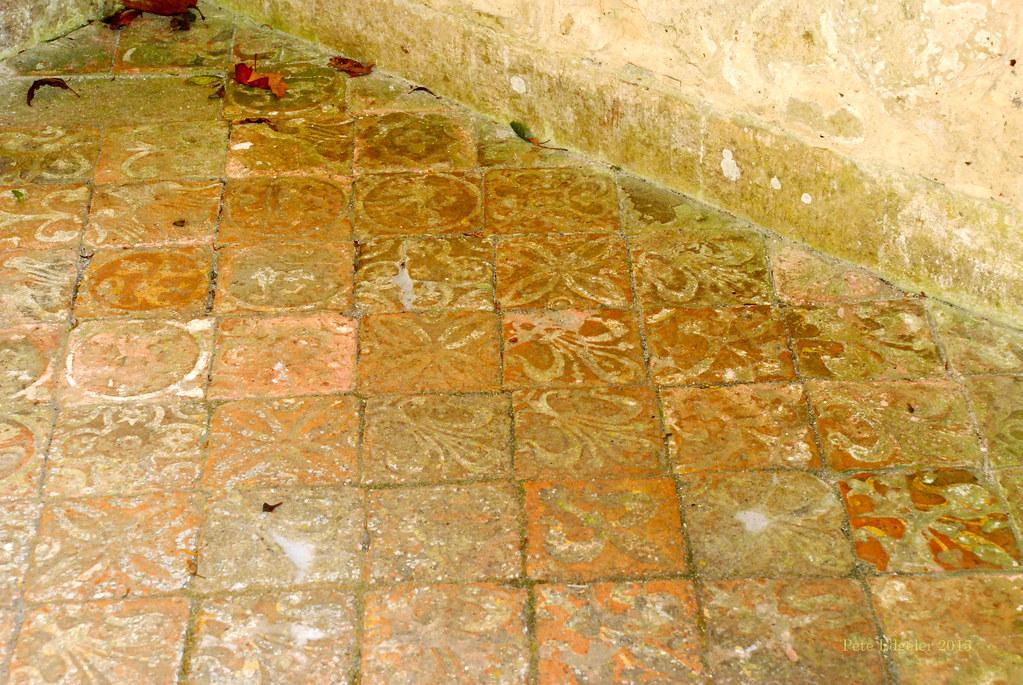 Tudor Floor Tiles, Mottisfont House and grounds, National … | Flickr