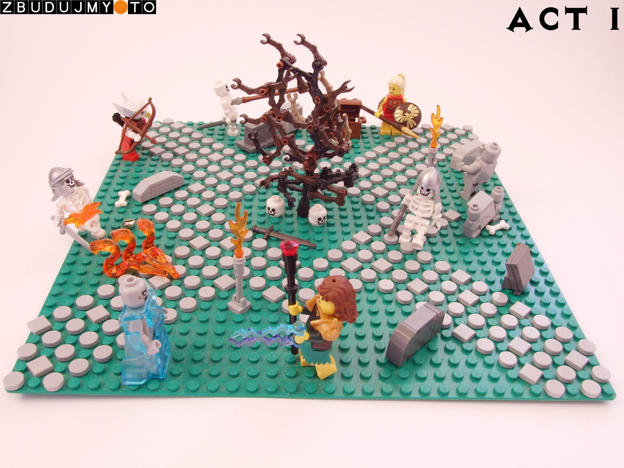Artist makes LEGO Diablo II figures