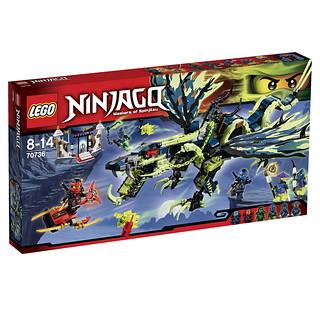 LEGO Ninjago 70736 - Attack of the Morro Dragon