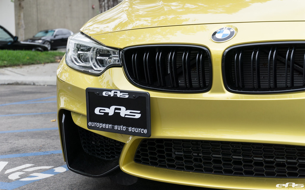 EURO 2015-2018 BMW M2 M3 M4  Removable Front License Plate Bracket STO N SHO