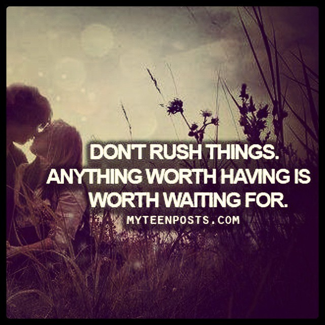 Aw So True You Were Worth Waiting For Mylove Myo Flickr