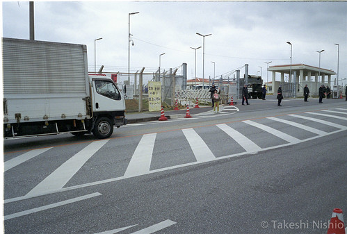 ゲート前の様子 / situation around the gate
