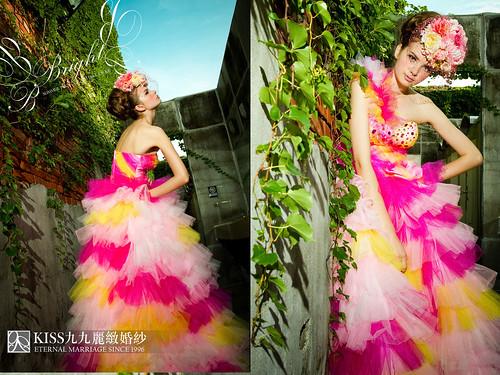高雄推薦婚紗攝影-高雄kiss99麗緻婚紗告訴大家2015春季婚紗的流行趨勢 (7)