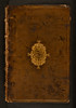 Binding of Thesaurus Cornu copiae et Horti Adonidis [Greek and Latin]