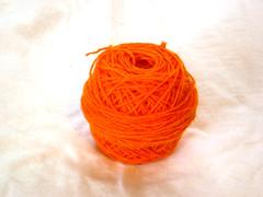 Orange overspun