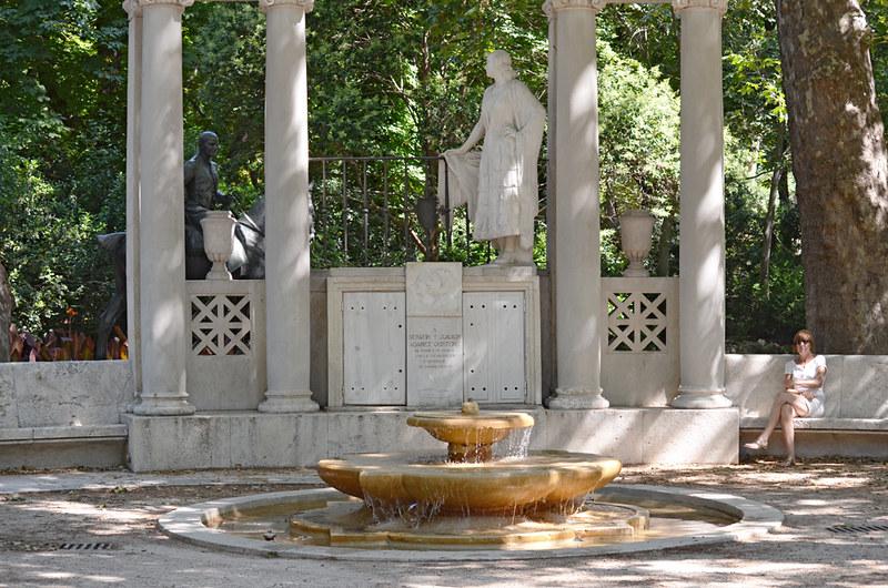 Monument, Park de El Retiro, Madrid