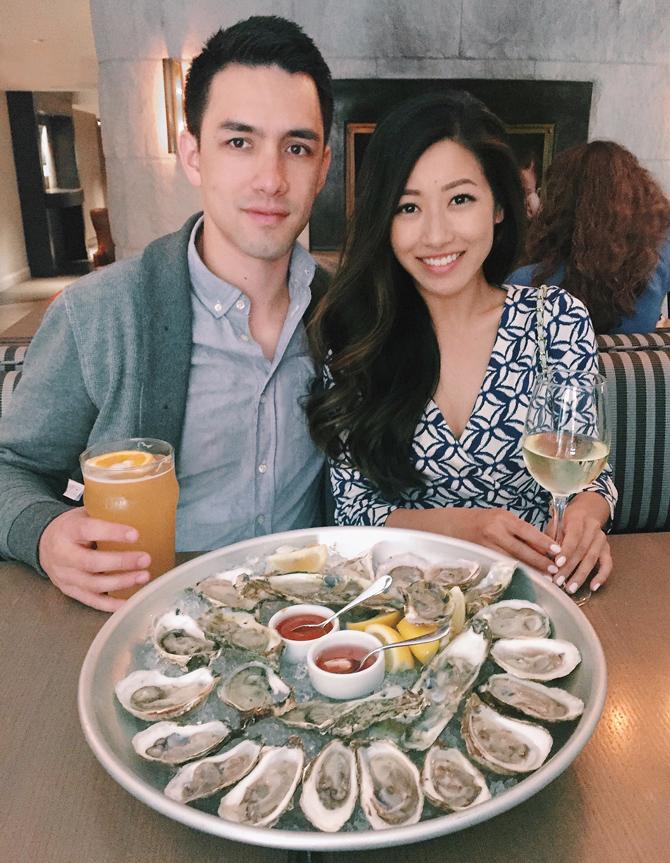 boston dollar oysters happy hour precinct restaurant