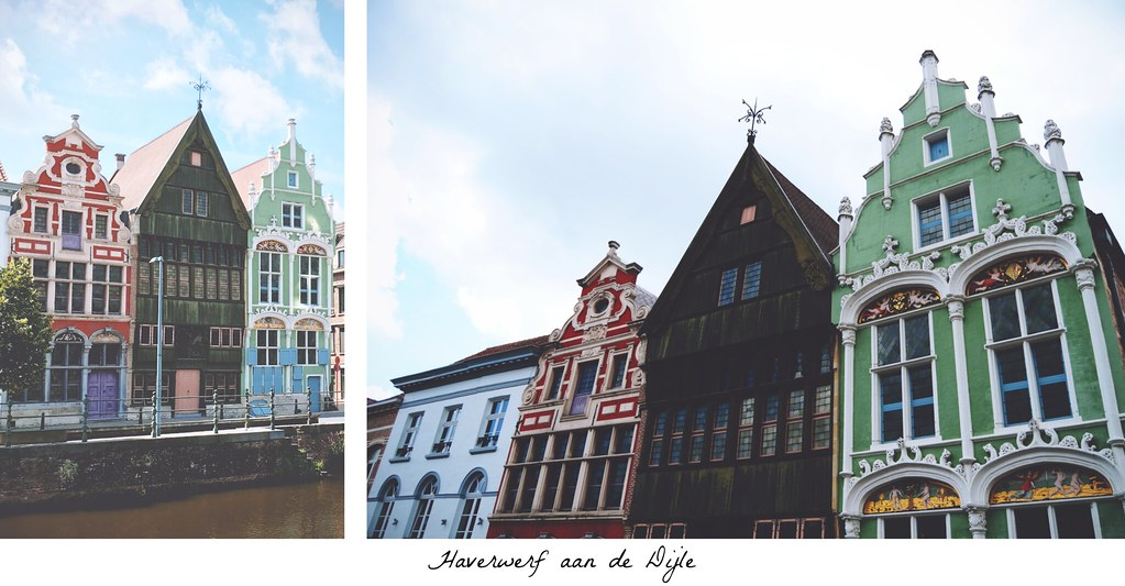Cute little buildings in Mechelen, Belgium | via It's Travel O'Clock