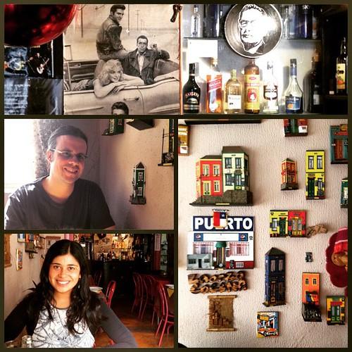 """Almorzando en """"La Otra Cocina"""" #Valparaíso #Chile 🍴🍷🍵"""