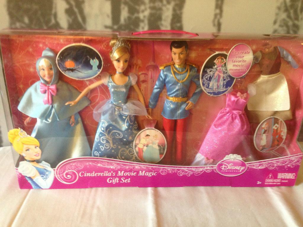 disney princess doll 2015 cinderella movie magic gift set