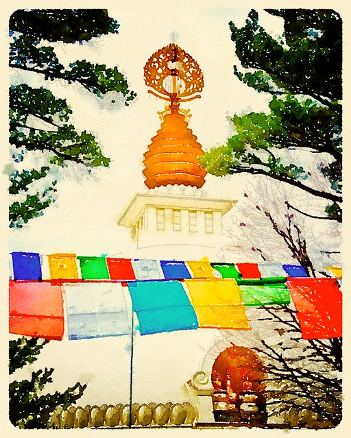 Prayer Flags - Peace Pagoda