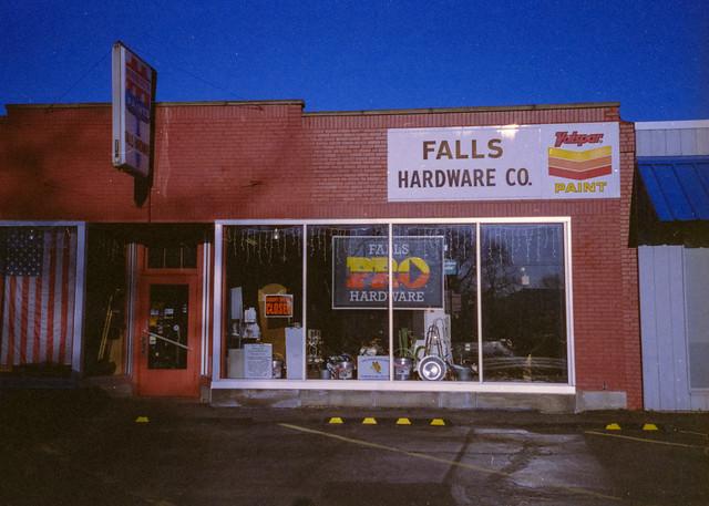 FALLS HARDWARE CO.