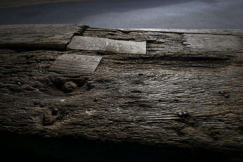 Đến những mối nối gỗ, sửa gỗ cũng thấy đẹp lạ kỳ