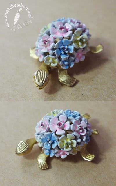 S.A. Samson Jewelry turtle brooch